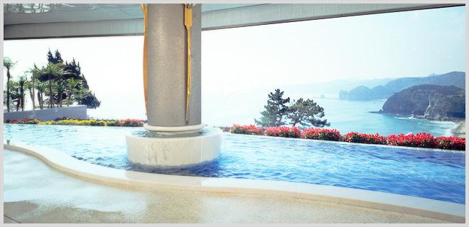 大浴場「WAVE」大展望風呂